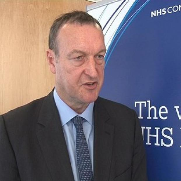 NHS Confederation chief Mike Farrar said healthcare leaders 'are deeply concerned about the storm clouds that are gathering around the NHS'