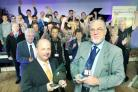 International were the 2011 winners of The Westmorland Gazette Business of the Year Award and the Innovation and Technology Award. Directors Adrian Rawlinson and David Ford are pictured with jubilant staff.