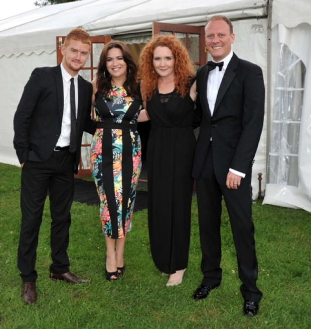 Coronation Street stars Mikey North, Debbie Rush, Jenny McAlpine & Antony Cotton