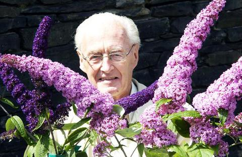 Ambleside Horticultural Society president Peter Howarth
