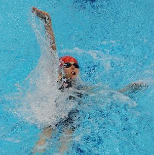 Nyree Kindred left herself too much to do as she claimed silver in the S6 100m backstroke