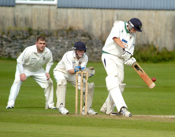 Jack White's 69 not out was not enough for victory as Kendal lost by one wicket to Lancaster