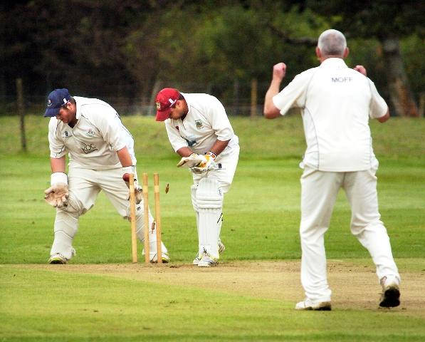 Moffat bowls Burneside's Airey but that cannot stop Silverdale from defeat