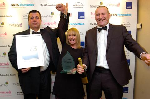 Business of the Year winners Lakes Speciality Foods
