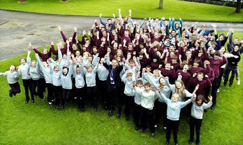 Pupils celebrate a great 12 months at Queen Katherine School