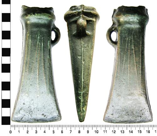 Rare bronze axes. Picture taken by Dot Broughton.