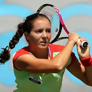 Laura Robson went down in three sets to Hsieh Su-wei