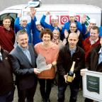 Celebrations at Business of the Year winner Lakes Speciality Foods