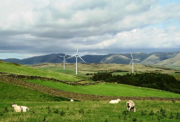 How campaign group, FELLS, claimed the turbines would look
