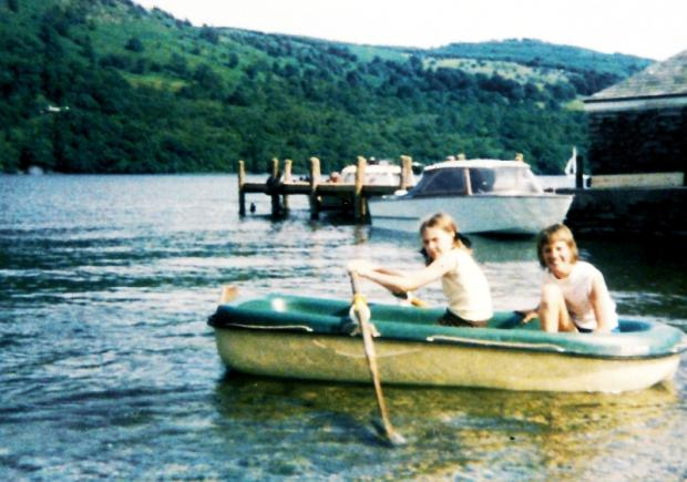 Julie and Angela spent childhood summers on Windermere