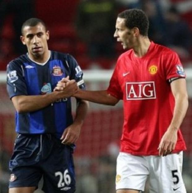The Westmorland Gazette: Anton Ferdinand, left, and Rio Ferdinand said they want to work with the Kick it Out campaign