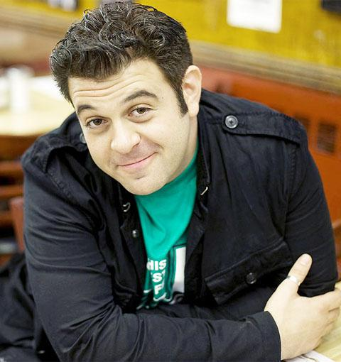 Man v Food presenter Adam Richman is to be invited to the pub
