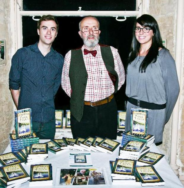 Taffy Thomas with Steven Gregg (illustrator) and Maria Kourtoulos (from publishers History Press).