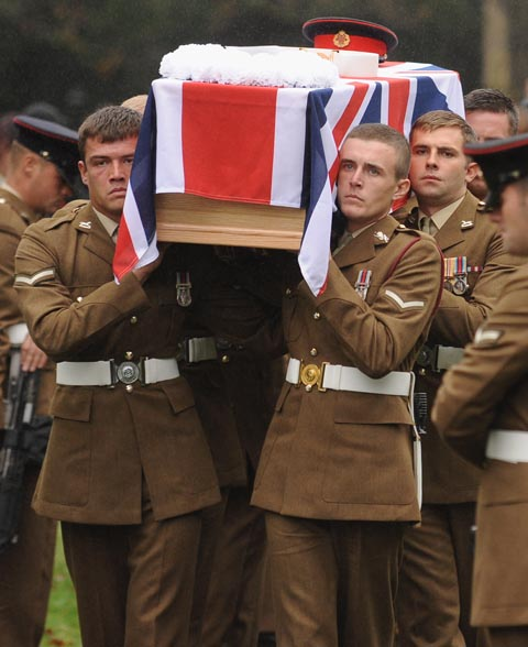 VIDEO: People of Kendal pay their respects to soldier Ryan Ward