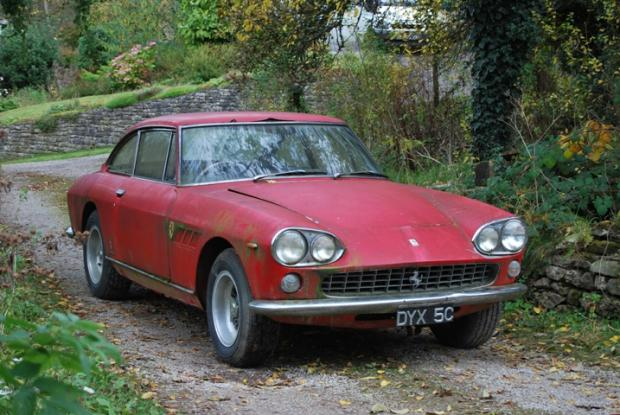 Mouldy Ferrari from Kendal sells for £68,700 at auction
