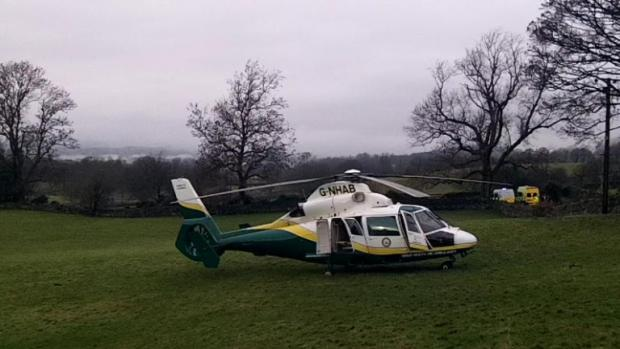 Hypothermia woman rescued from Windermere area