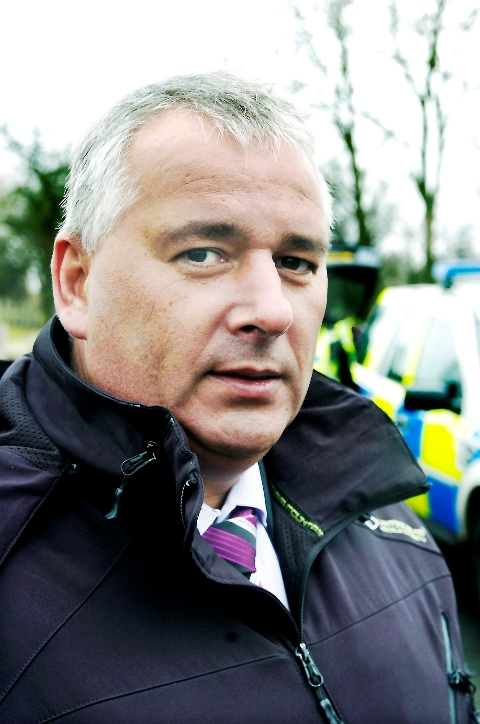 Investigating officer DCI Lee Johnson, of Cumbria Police