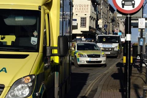 Elderly man 'collapses into bus' in Kendal
