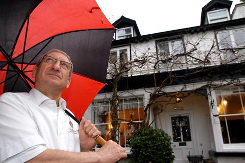 Tony Blaney, chair of the Lakes Hospitality Association and owner of the Fairfield Garden Guest House, Bowness