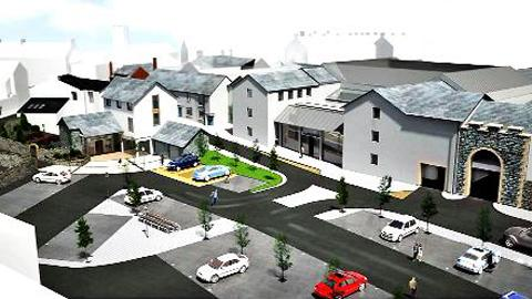 How the new development on the old brewery site in Ulverston could look
