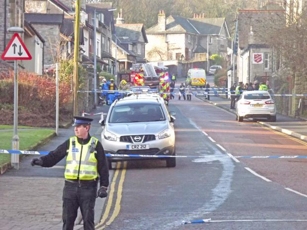 The Westmorland Gazette: Emergency services called to 'chemical spillage' at Kendal pharmacy