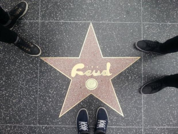 The Feud look to the stars in Hollywood
