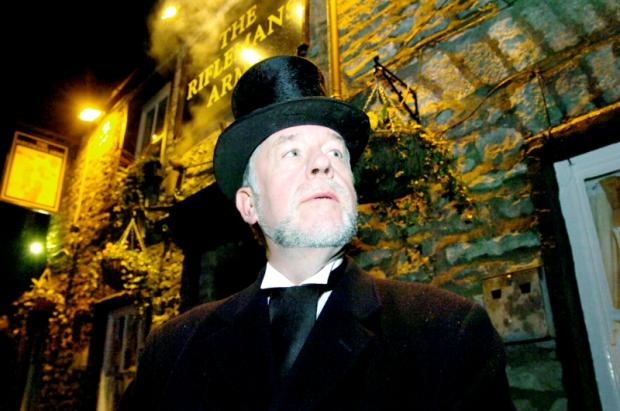 Simon Entwistle is renowned for his ghost stories and walks around Lancashire and Cumbrian towns