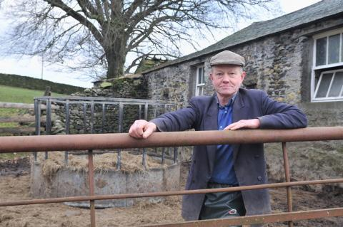 Tony Hunter was left devastated following the theft of six cattle