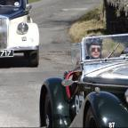 Vintage motor cars cut a colourful dash at Shap