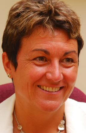 Early retirement: Jill Stannard, head of Cumbria County Council
