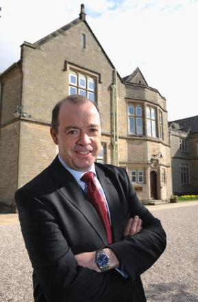 'URGENCY TO MERGE': Sedbergh School headmaster Andrew Fleck this week