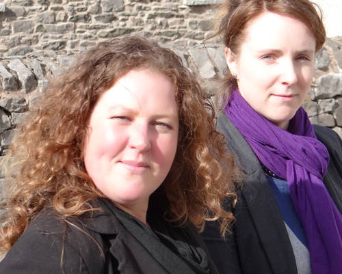 Suzie Kavanagh (left) and Rachel Broughton
