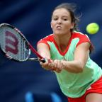 Laura Robson has never won a main-draw match in Paris