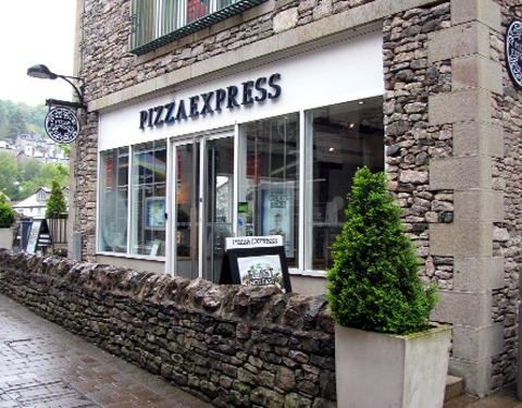 Pizza Express at Kendal