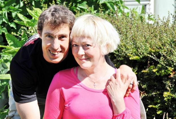 Ettienne and Patricia De Beer are raising money for Breast Cancer Haven