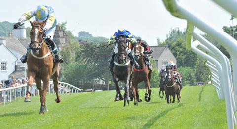 Cartmel Races is a major event in the village