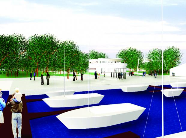 An artist's impresison of how the Ferry Nab scheme could look