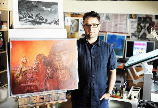Artist Sean Phillips - one of the biggest names in comic art features in the Lakes International Comic Art Festival
