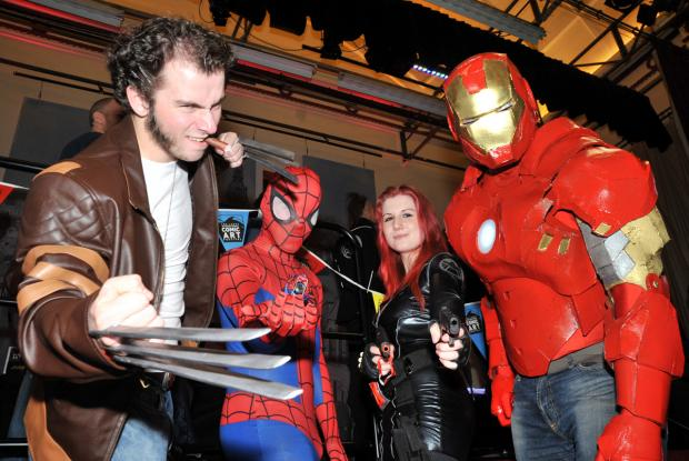 The Westmorland Gazette: Matthew Gordon (Wolverine), Sam O'Dwier (Spiderma