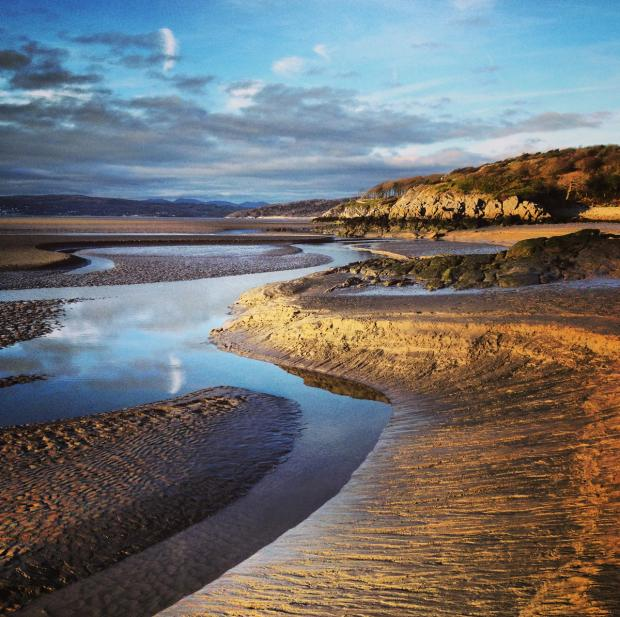 This photograph of wonderful Morecambe Bay Morecambe Bay was taken by John Darlington, director of the National Trust North West @NT_JohnD