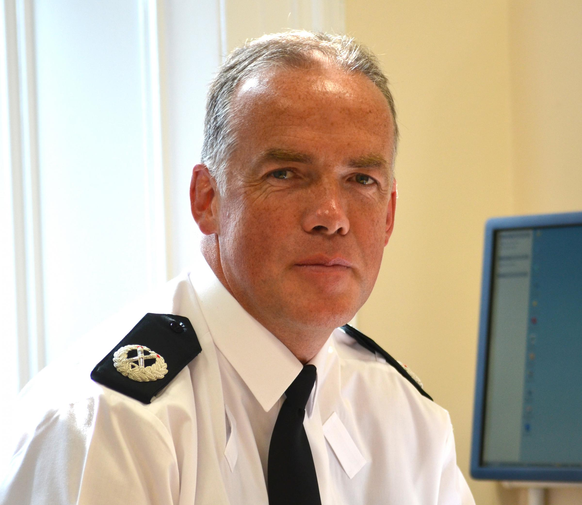 Assistant chief constable tells Craven councillors police red tape is 'bonkers'