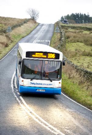 Rural buses are a lifeline to many in Cumbria