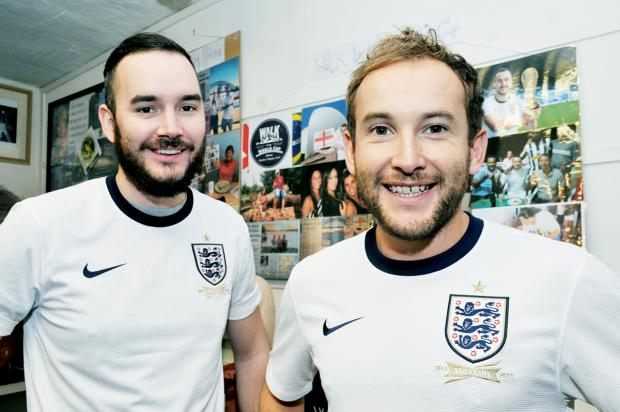 Soccer pals a step closer to their World Cup goal