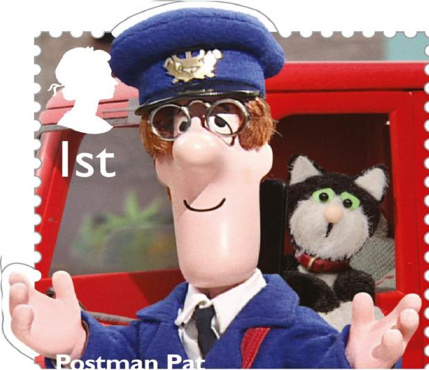 South Lakeland inspired childhood classic Postman Pat to be celebrated with special Royal Mail stamp