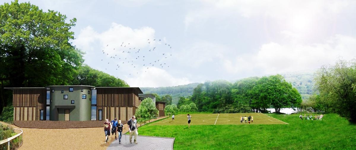 ARTIST'S IMPRESSION: How the YMCA outdoor centre might look