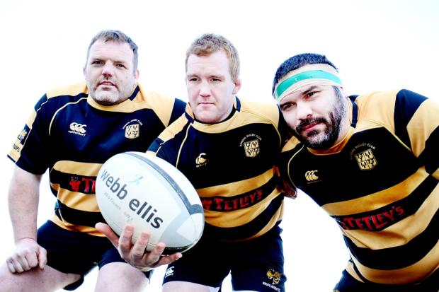 Pack to the future with Kendal Rugby Club's front row trio