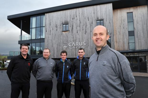 New professional joins the ranks at Carus Green Golf Club