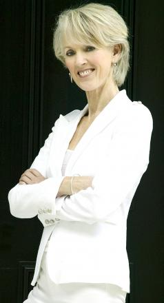 Author Joanna Trollope, one of the many top names at Words by the Water