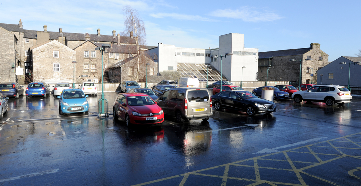 All change on Level Three of South Lakeland House car park
