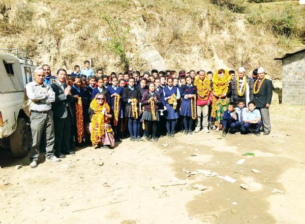 South Lakeland pupils see Nepal - from their classroom